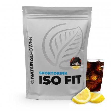 Sportdrink Iso Fit 1500 g - Cola-Zitrone
