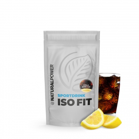 Sportdrink Iso Fit 400 g - Cola-Zitrone