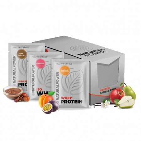 Probierbox Protein Mix - Iso Whey, 5 Komponenten & Whey Protein (10x30g)