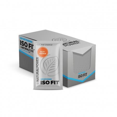 Sportdrink Iso Fit Blutorange - Sachet-Box (15x16g)