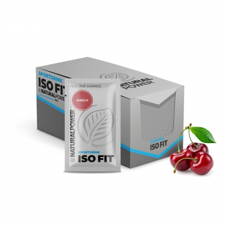 Sportdrink Iso Fit Kirsch - Sachet-Box (15x16g)